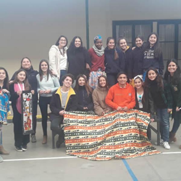 Visita de la MSA al colegio con el proyecto