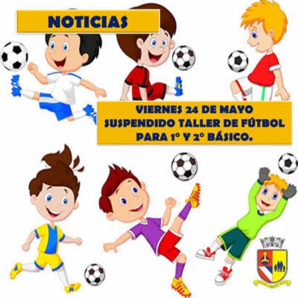 Taller de Fútbol suspendido